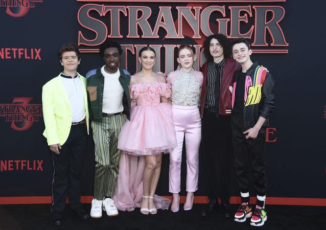 Los protagonistas de 'Stranger Things'