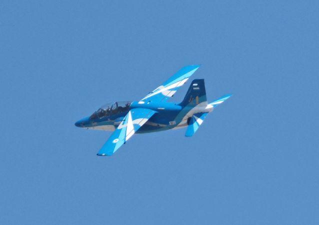 IA-63 Pampa en FIDAE 2014