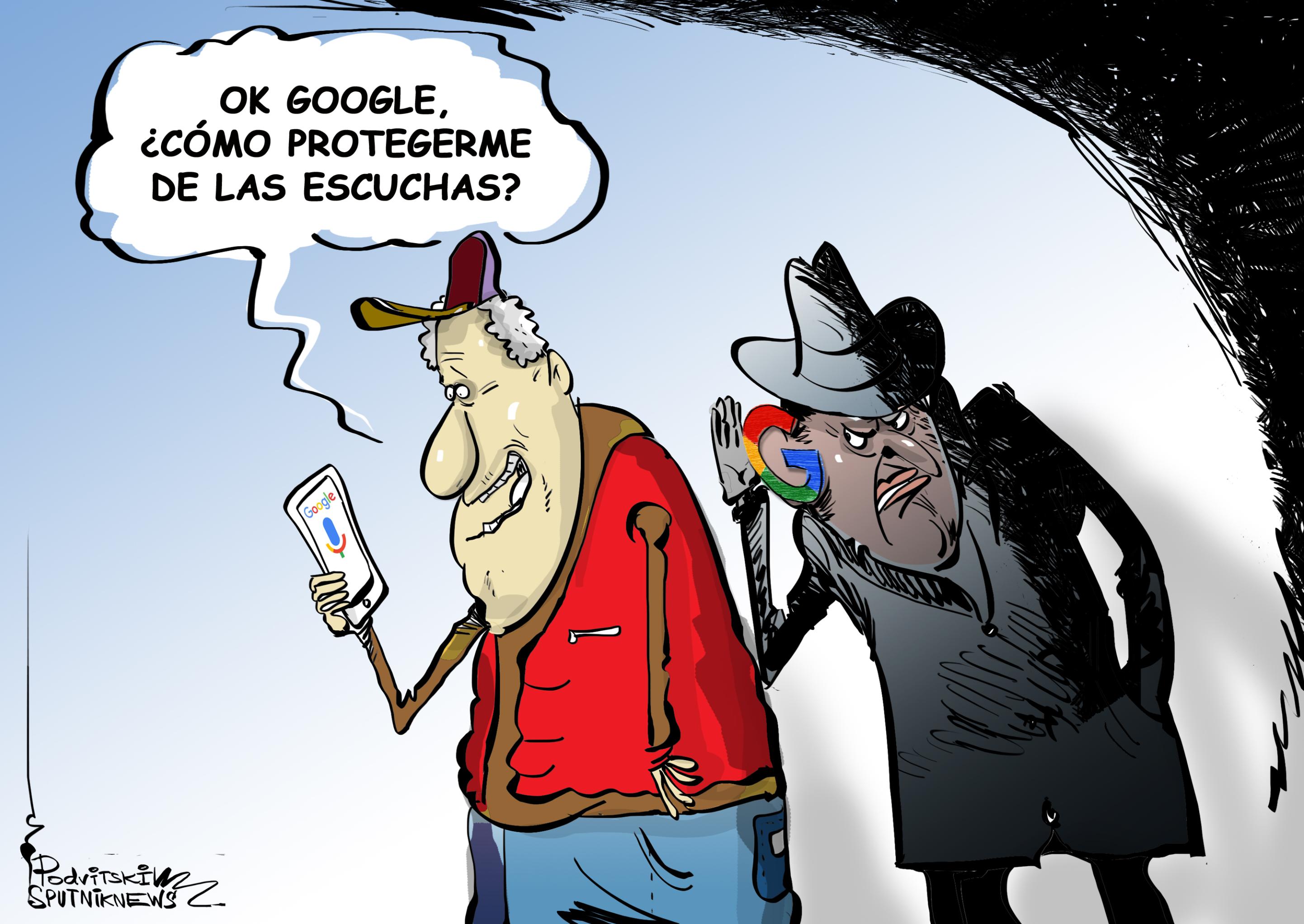 OK Google, ¡deja de espiarme!