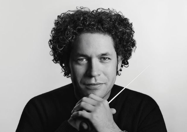 Gustavo Dudamel, director de orquesta venezolano