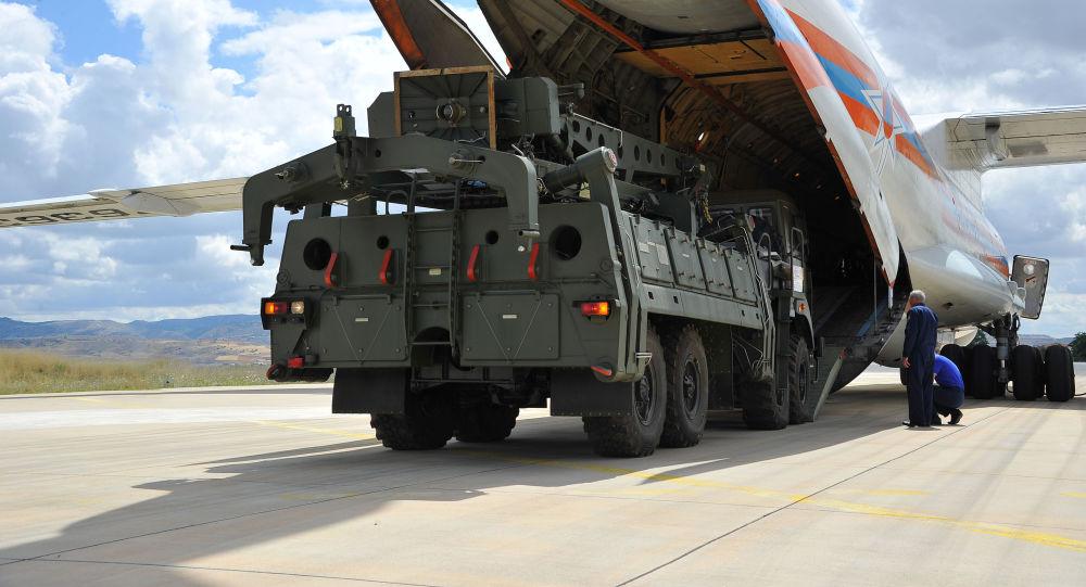 Los componentes de los S-400 arriban a Turquía