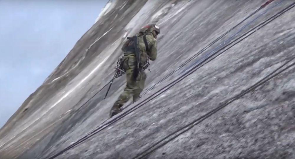 Escaladores militares rusos
