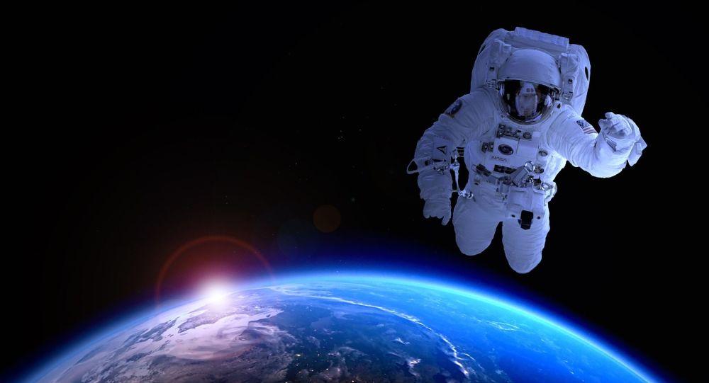 Un astronauta estadounidense (imagen referencial)
