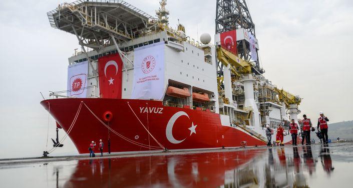 Buque perforador turco Yavuz