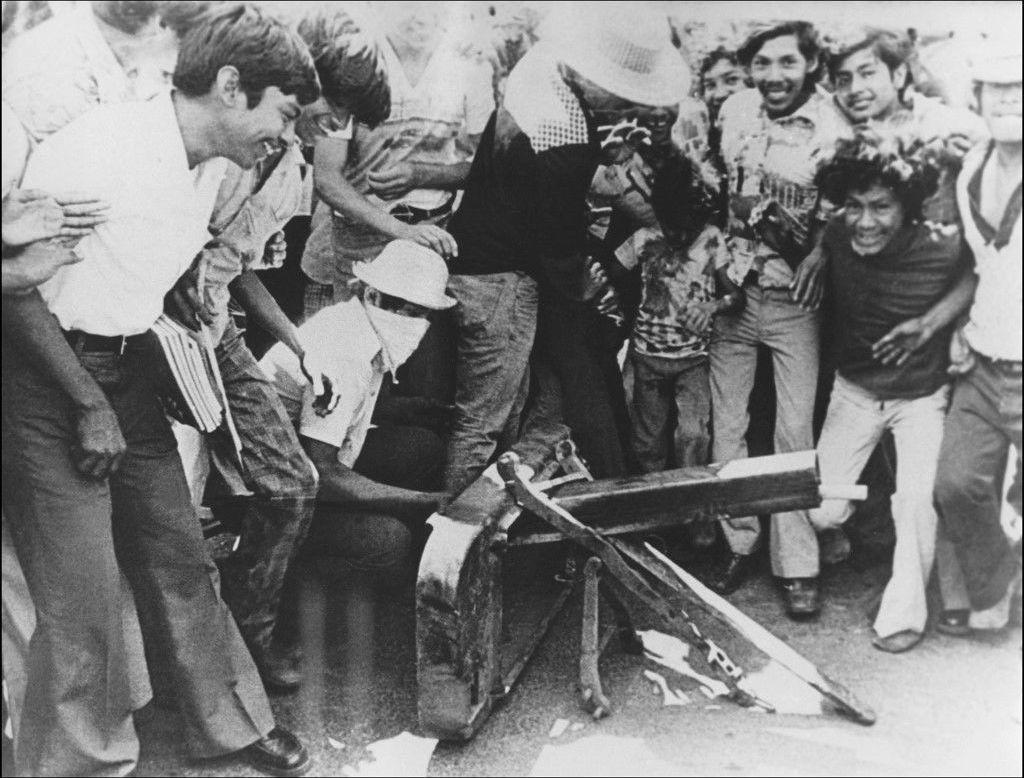 Integrantes y simpatizantes del Frente Sandinista de Liberación Nacional durante la Revolución