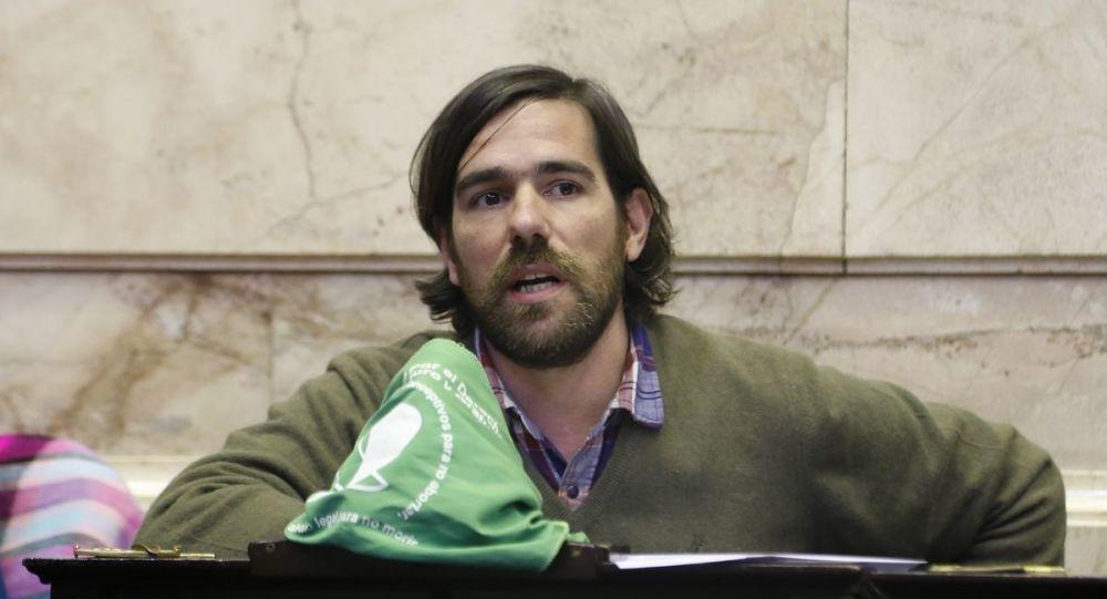 Nicolás del Caño, precandidato a la presidencia argentina