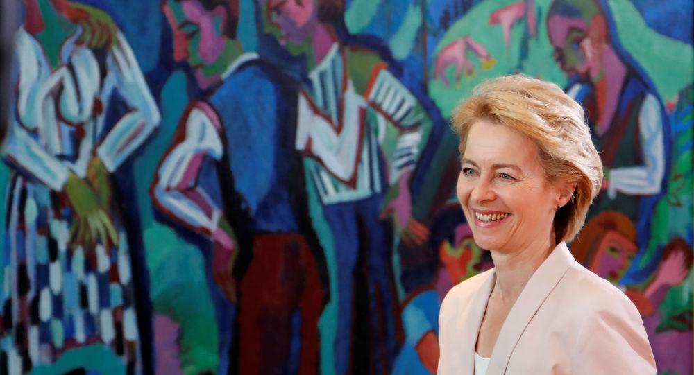 Ursula von der Leyen, presidenta electa de la Comisión Europea