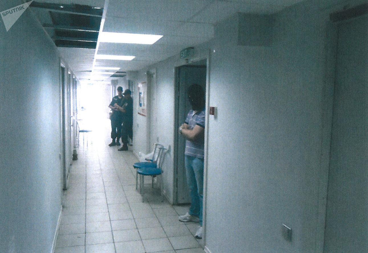 Una prisión secreta en el aeropuerto ucraniano de Mariúpol