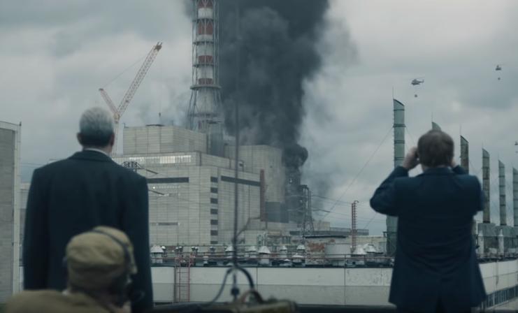 Una escena de la serie de HBO 'Chernóbil' ('Chernobyl')