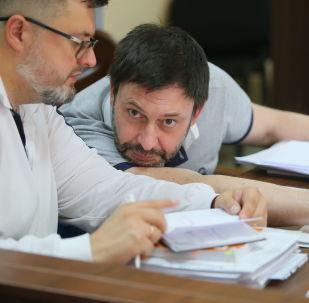 El jefe del portal RIA Ukraina, Kiril Vishinski