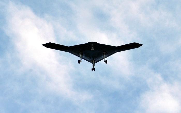 Un dron furtivo (imagen referencial)
