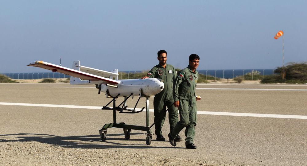 Un dron iraní