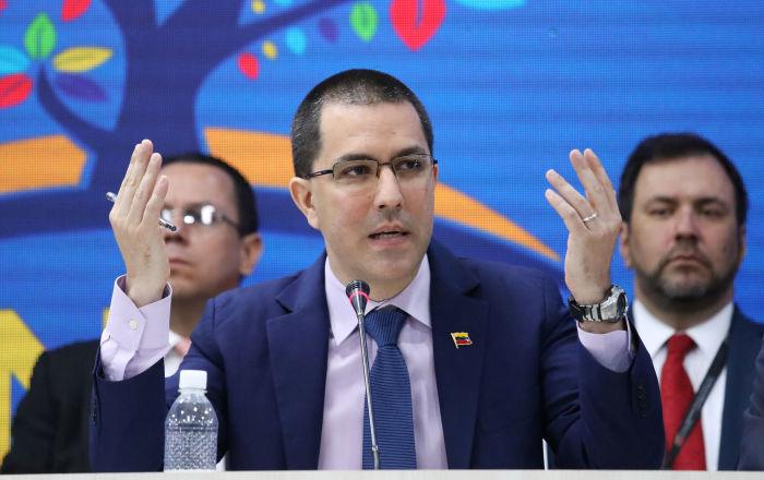 Arreaza: pese a las provocaciones Venezuela jamás promoverá una guerra