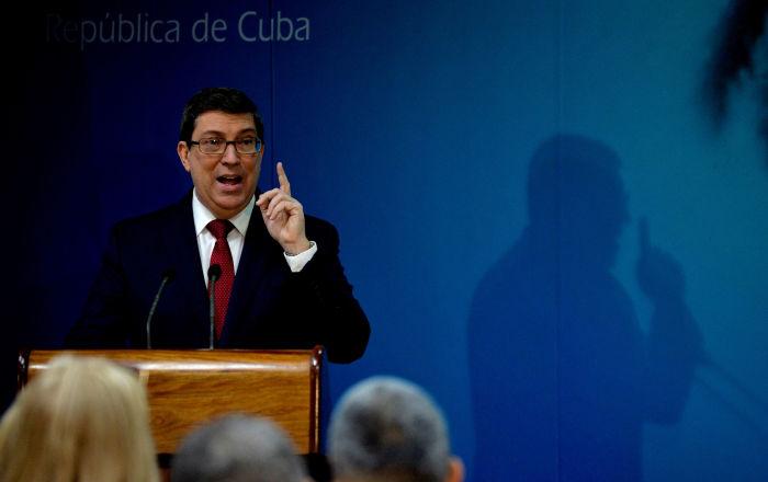 Canciller cubano ratifica respeto de Cuba al Gobierno y pueblo de Venezuela