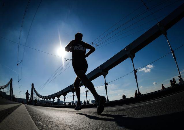 Un maratoniano (imagen referencial)