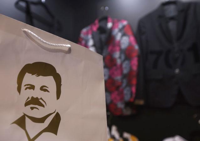 Imagen del narcotraficante Joaquín El Chapo Guzmán