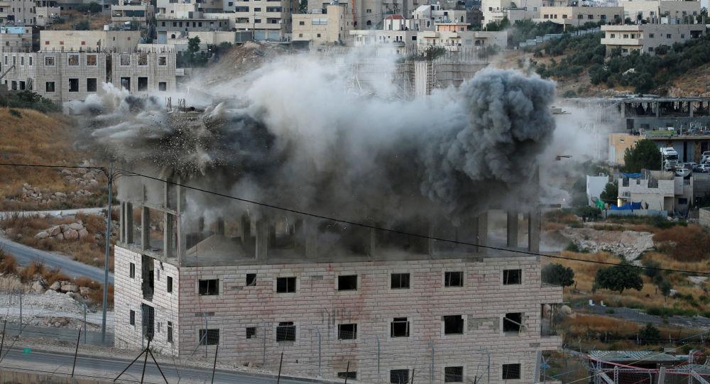La demolición de viviendas palestinas