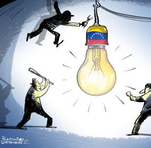 El apagón en Venezuela, ataque criminal contra la paz de los hijos de Bolívar