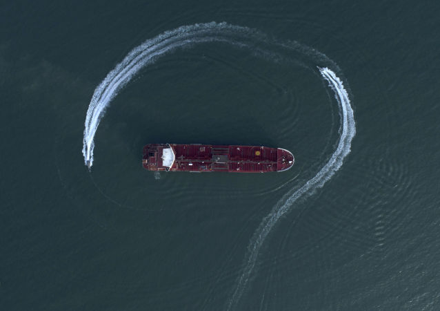 Detención del buque petrolero Stena Impero (archivo)