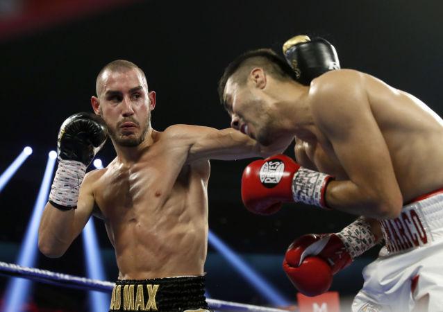 Maxim Dadáshev, boxeador ruso (archivo)