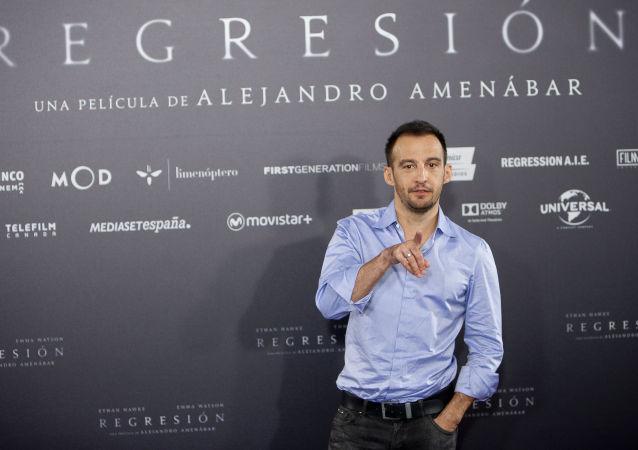 El director de cine español Alejandro Amenábar