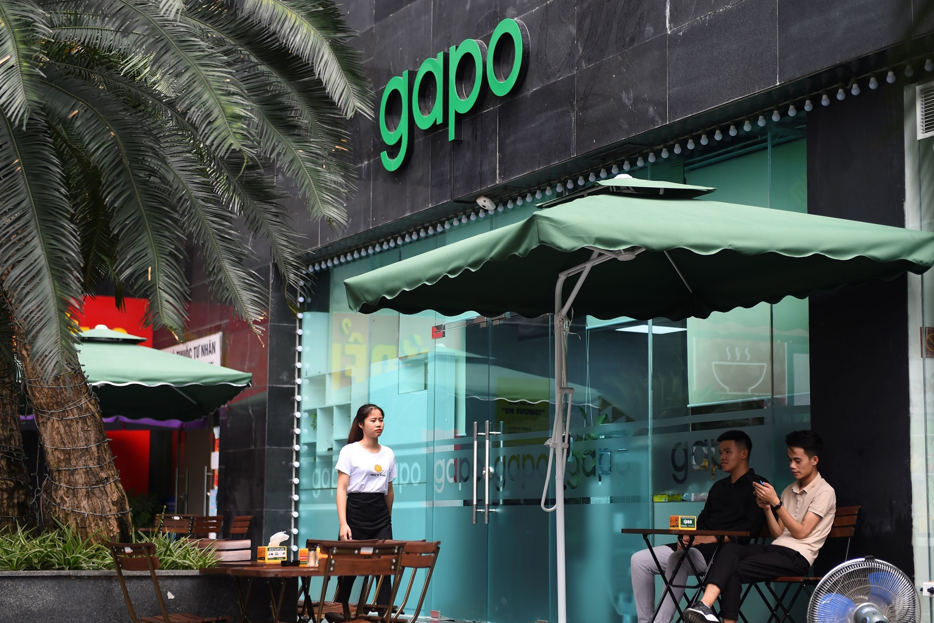 La oficina de Gapo, en Vietnam