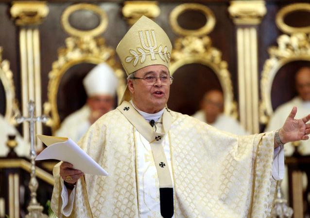 El cardenal Jaime Ortega, Arzobispo Emérito de La Habana