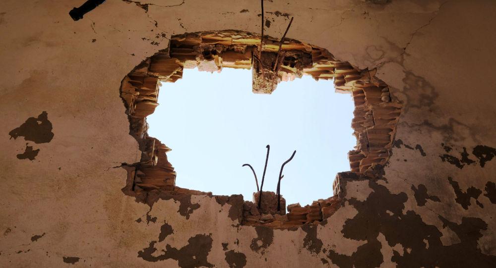 Consecuencias de los bombardeos en Libia