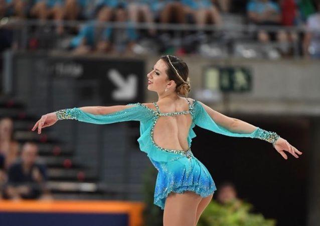 Bruna Wurts, patinadora argentina