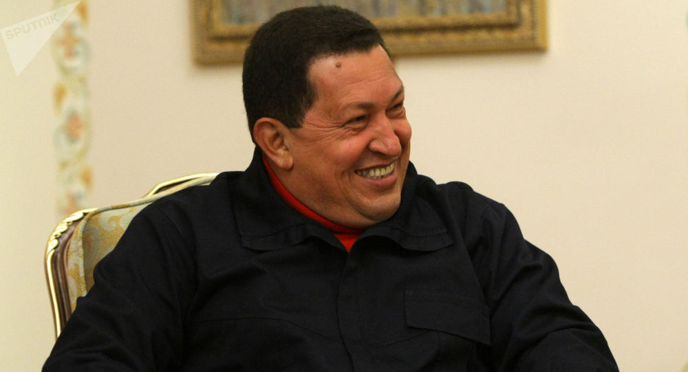 Hugo Chávez, expresidente de Venezuela, durante su visita a Rusia en 2010