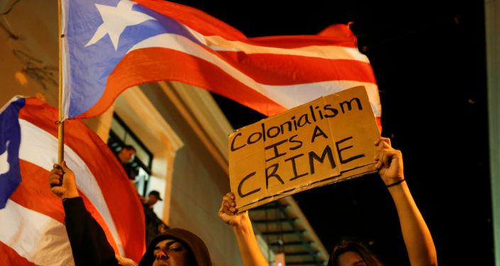 Protestas en Puerto Rico