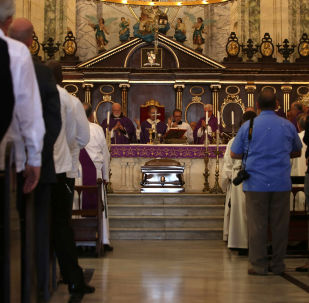 Misa de exequias al cardenal Jaime Ortega