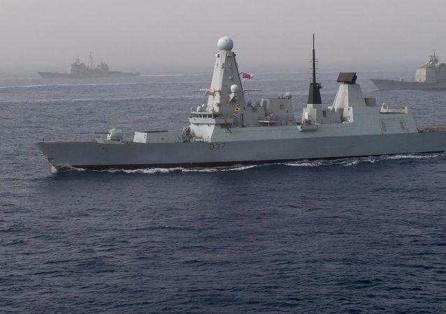 El destructor HMS Duncan