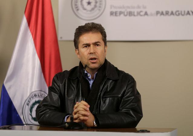 Luis Alberto Castiglioni, el canciller de Paraguay