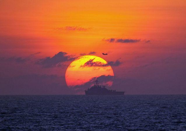 Un buque (imagen referencial)