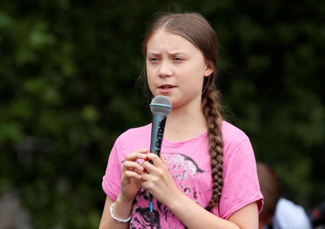 Greta Thunberg, activista medioambiental sueca (archivo)