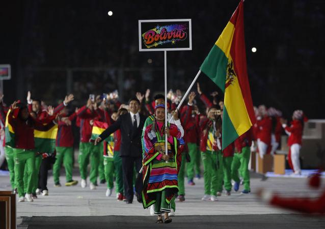 La delegación de Bolivia en los los XVIII Juegos Panamericanos 2019