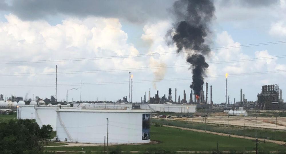 Planta petroquímica de la empresa ExxonMobil en Texas
