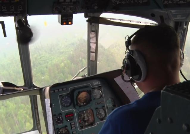 Así combate Rusia los incendios forestales en Siberia
