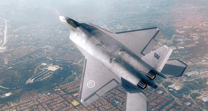 TAI TF-X, concepto de un caza turco de nueva generación