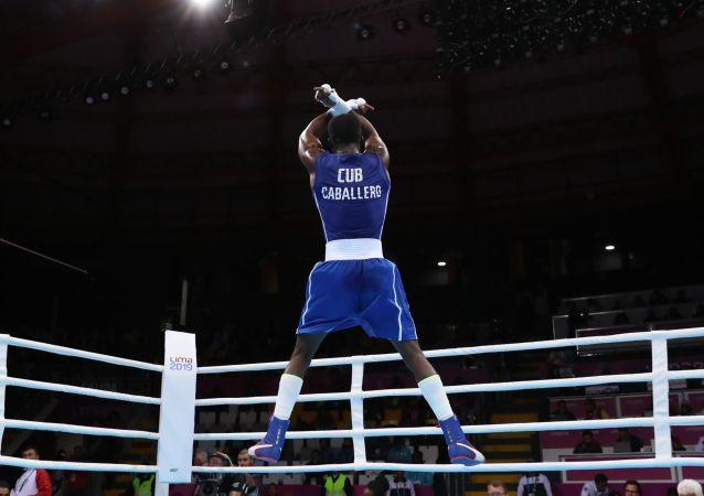 Osvel Caballero, boxeador cubano