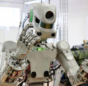 El robot ruso Fedor