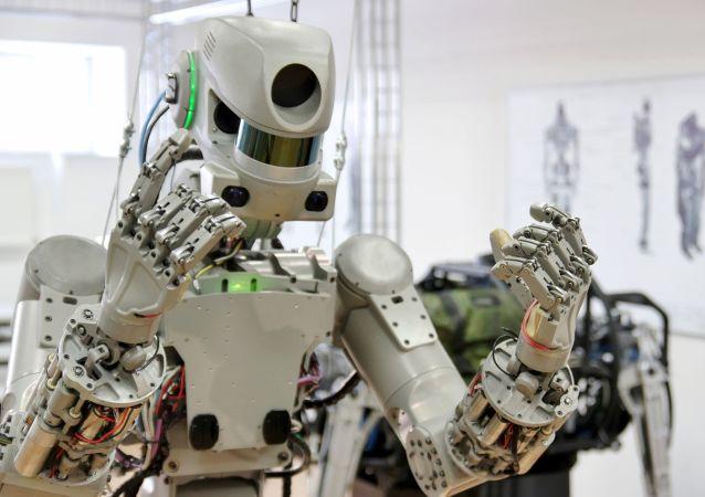 Las pruebas del robot Fedor dentro del proyecto 'Salvador'