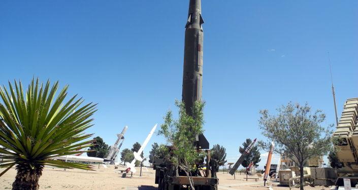 Un misil estadounidense (imagen referencial)