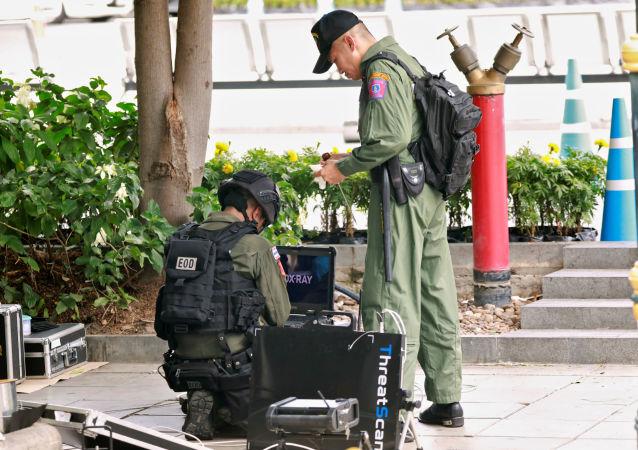 La Policía tailandesa investiga las explosiones en Bangkok