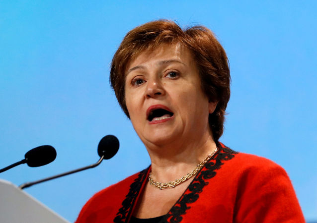 Kristalina Georgieva, economista búlgara