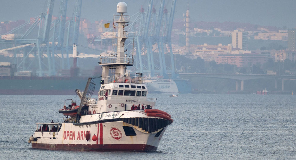 Barco de la ONG española Open Arms