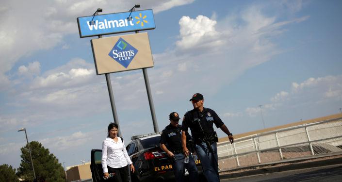 Lugar del tiroteo en El Paso, Texas