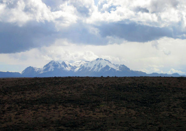 Sabancaya, volcán peruano