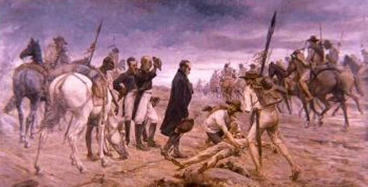 Paso del ejército del Libertador por el Páramo de Pisba